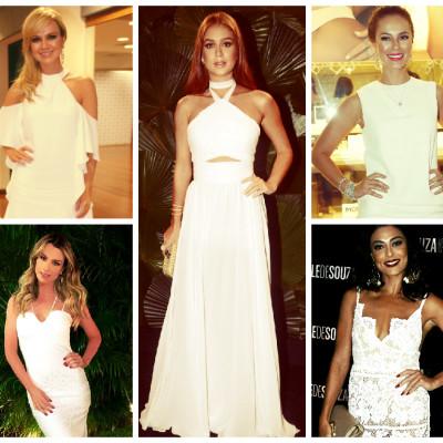 Vestidos brancos: inspire-se nas famosas com opções de R$ 69,90 a R$ 169,90