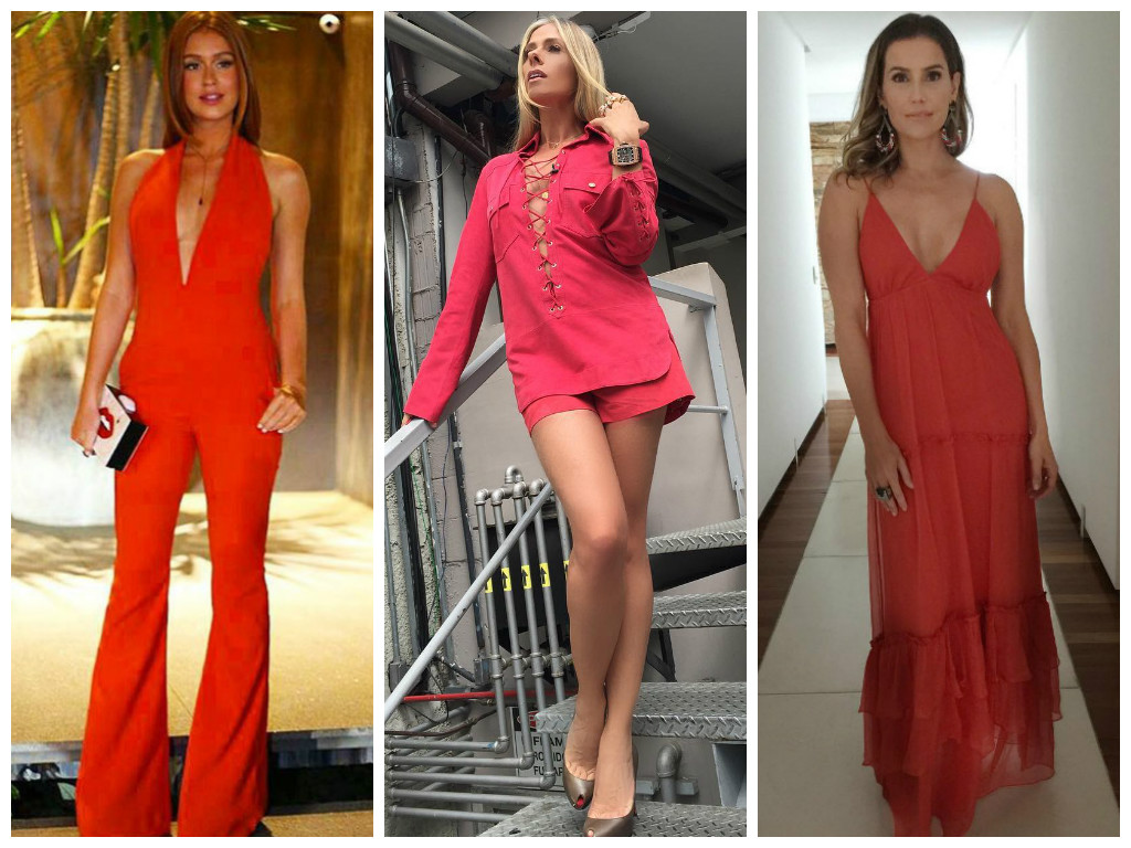3 looks vermelhos das famosas que caem bem no Natal