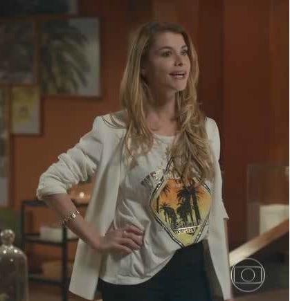 Alinne Moraes (Fotos: TV Globo/Divulgação)