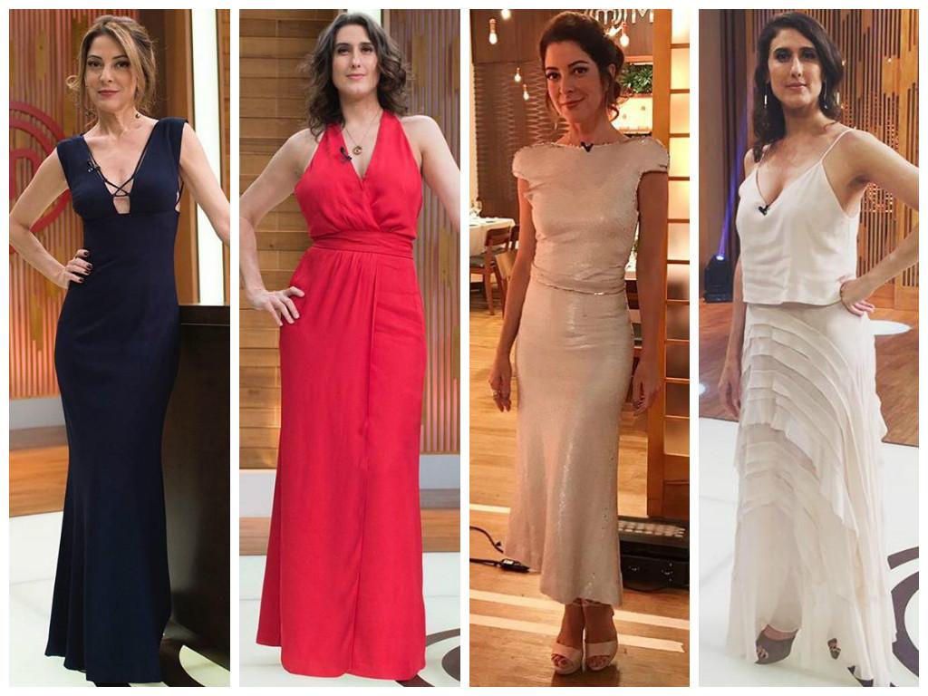 Veja marcas dos looks de Paola Carosella e Ana Paula Padrão na final do 'MasterChef'