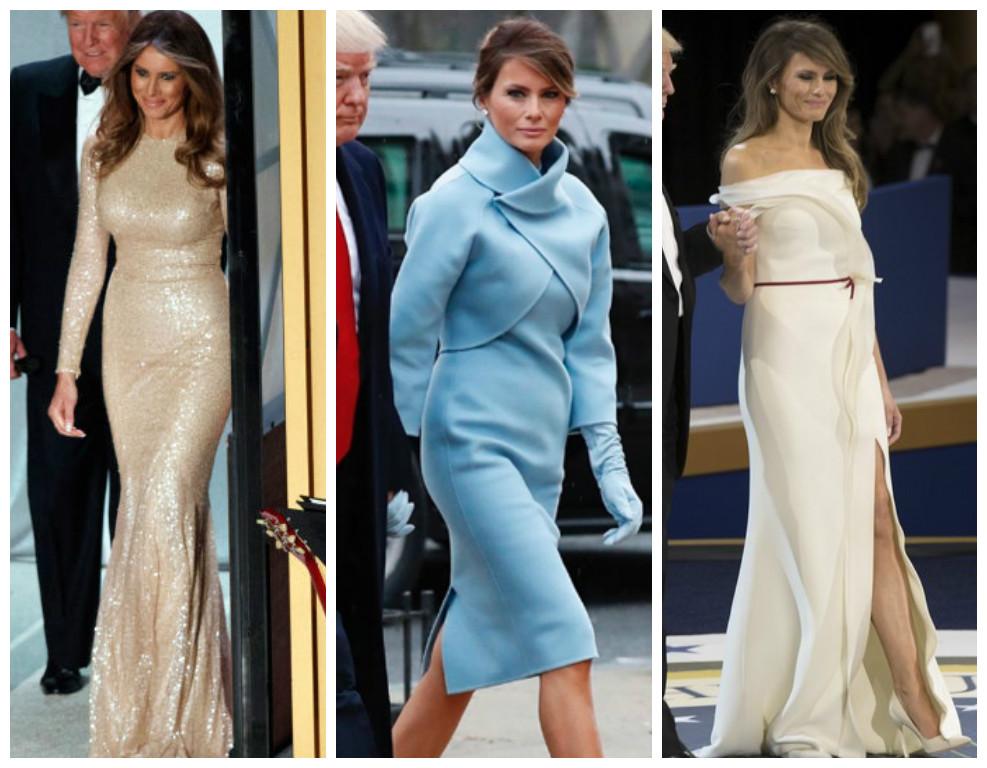 Recado dado: Melania Trump não veio para ser uma Michelle Obama