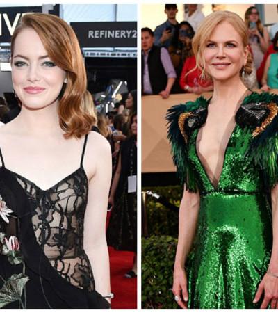 De Emma Stone a Nicole Kidman: veja erros e acertos no red carpet