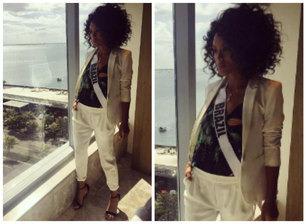 De terninho branco Ellus, Raissa Santana é nossa inspiração