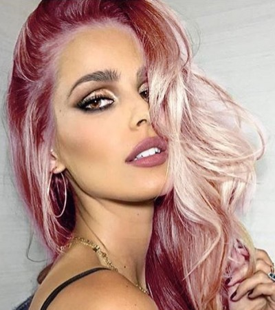 Yasmin Brunet de cabelo loiro ou rosa?; vote no visual preferido