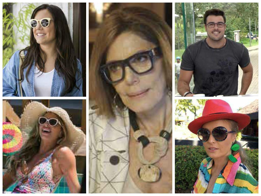 Óculos dominam ranking de acessórios mais pedidos da Globo