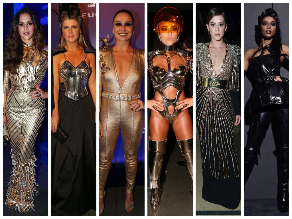 Famosas no Baile da Vogue (Fotos: AgNews - Instagram/Reprodução)
