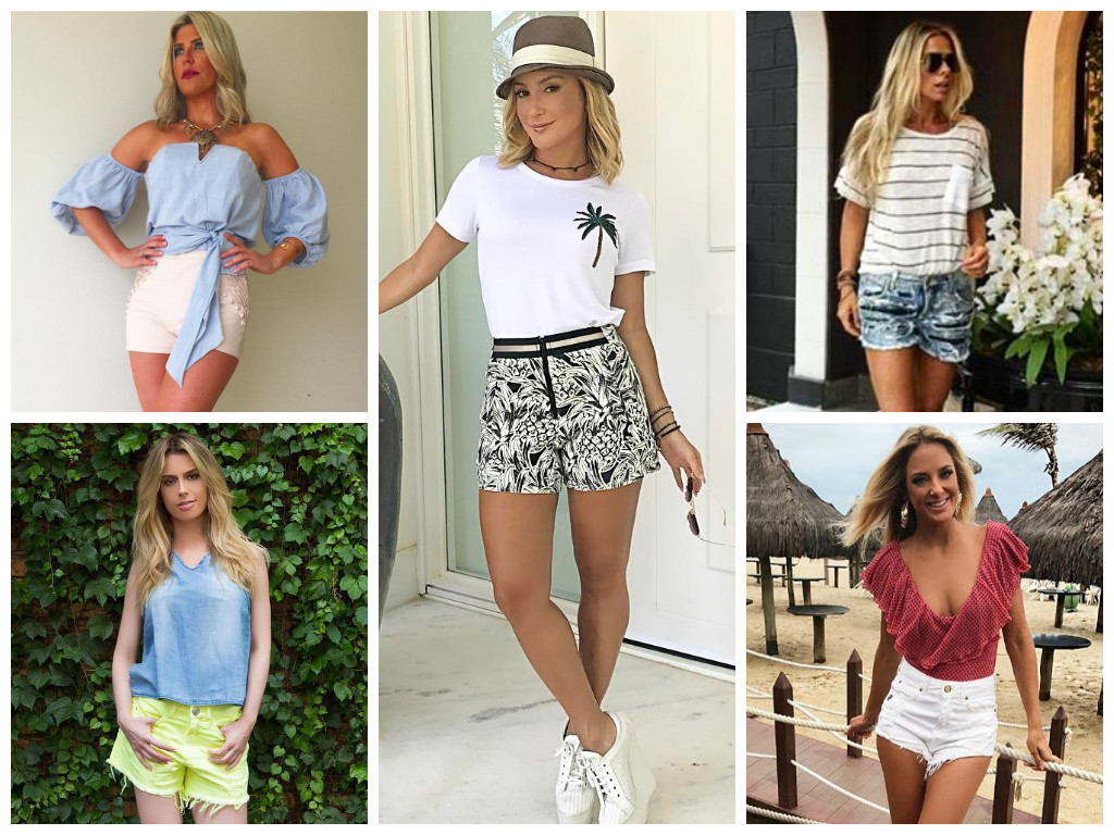 5 looks das famosas com shorts para copiar no Carnaval