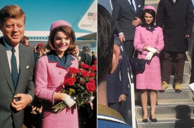 """Jackie Kennedy e o """"falso"""" tailleur Chanel usado no assassinato em Dallas"""