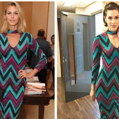 Sophia Abrahão e Renata Kuerten repetem vestido de R$ 2 mil