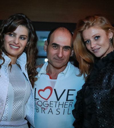 Isabeli Fontana e Cintia Dicker comandam evento beneficente de Amir Slama