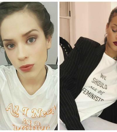 De Rihanna a Sophia Abrahão: camisetas com frases conquistam famosas