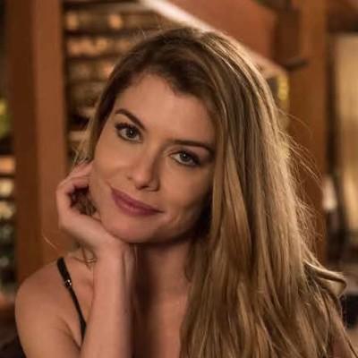 ea5b7c4f96e5b Longo de Alinne Moraes é cabelo mais pedido da Globo