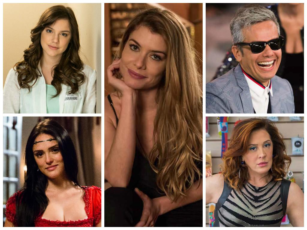 Longo de Alinne Moraes é cabelo mais pedido da Globo