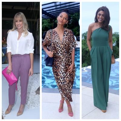 Calça, vestido e macacão: copie os looks versáteis de Deborah Secco, Taís Araújo e Juliana Paes