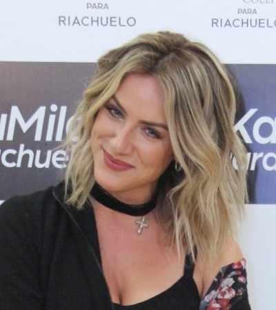 Tendência  em alta: Gio Ewbank usa dark flower em lançamento de Camila Coelho