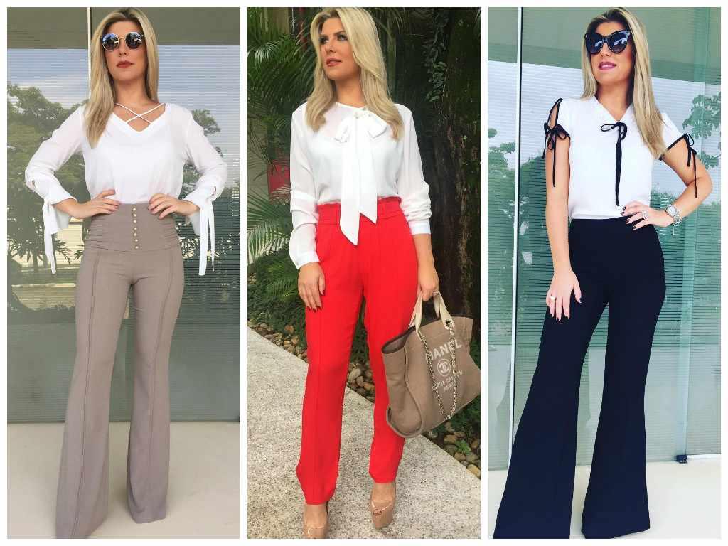 Inspire-se: 3 looks com blusa branca da Íris Stefanelli