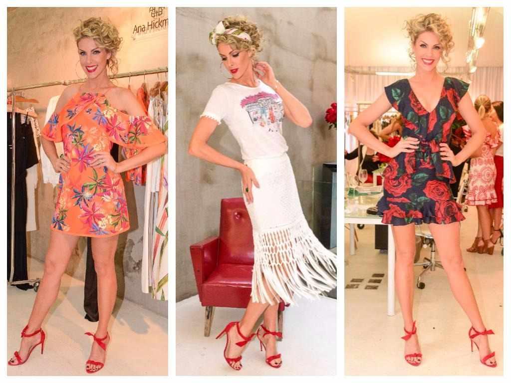 47b67e3ecae24 Ana Hickmann veste 3 tendências em lançamento de coleção - Elas no ...
