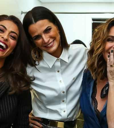Dia das Mães: Giovanna Antonelli, Ju Paes e Fernanda Motta exibem estilos diferentes