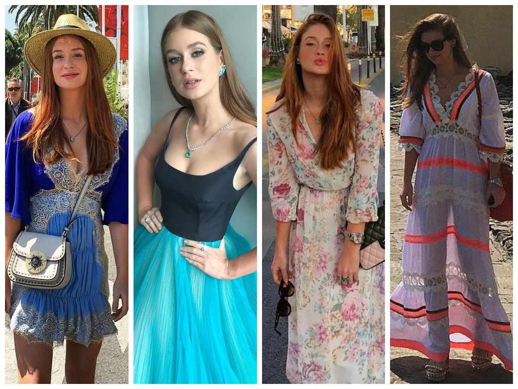 Estilosa: veja 4 vestidos de Marina Ruy Barbosa na Riviera Francesa
