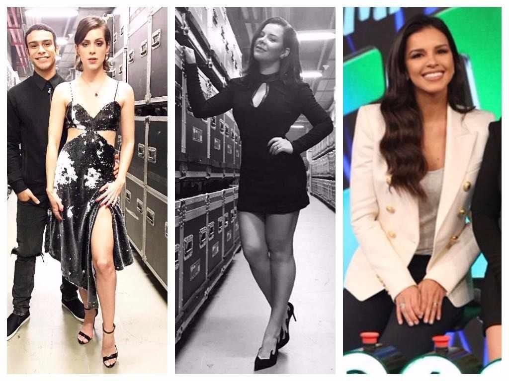 Veja looks de Sophia Abrahão, Fernanda Souza e Mariana Rios no 'Domingão do Faustão'