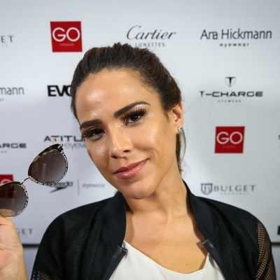 Inspire-se no look e no make com óculos de Wanessa Camargo