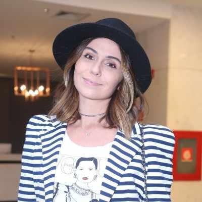 Inspire-se: 3 looks da Giovanna Antonelli com calça skinny preta