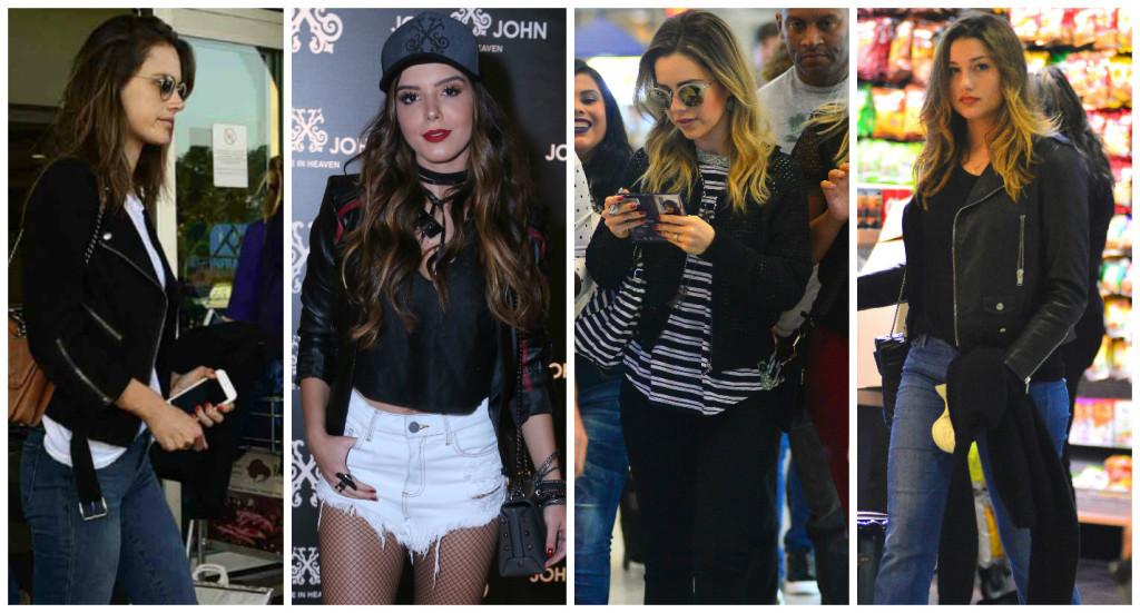 Alê Ambrosio, Giovanna Lancelotti, Sandy e Sasha (Fotos: AgNews)