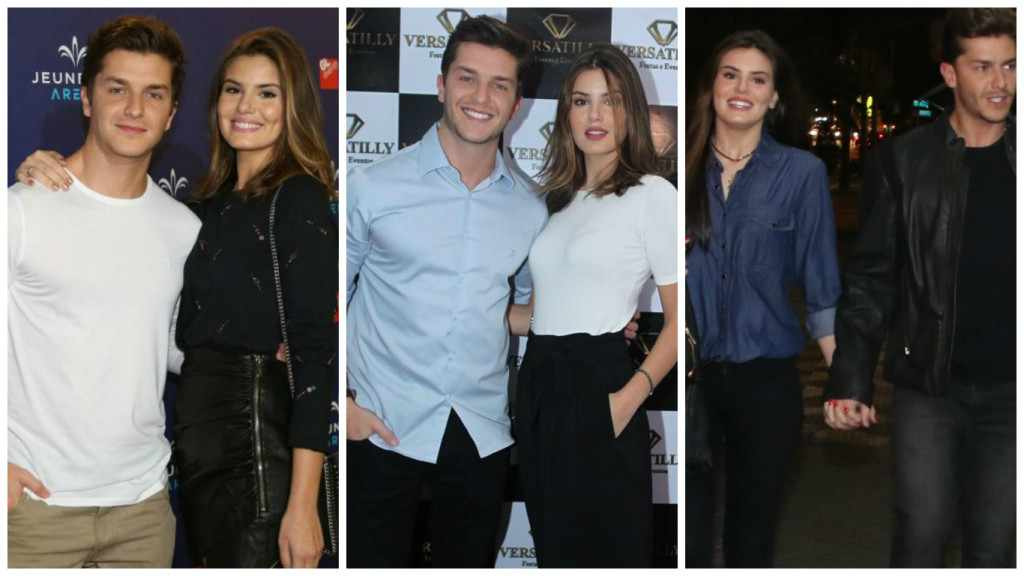 Noivos: Camila Queiroz e Klebber Toledo unidos até no estilo