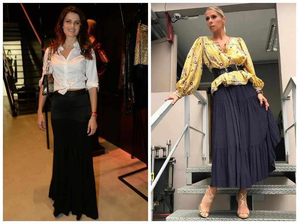 Isabeli Fontana e Adriane Galisteu (Fotos: AgNews e Instagram/Reprodução)