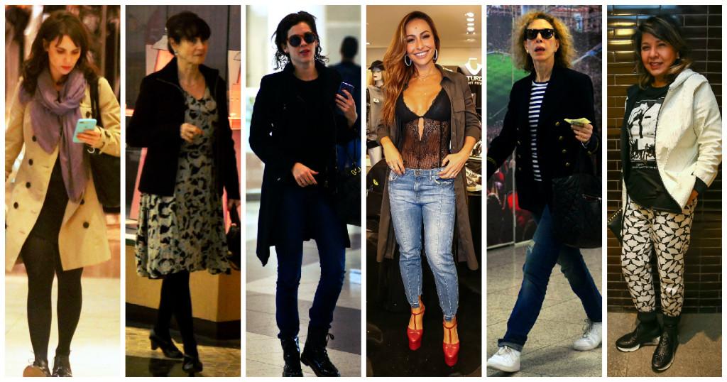 Looks das famosas: 6 jeitos de ficar quente no frio!