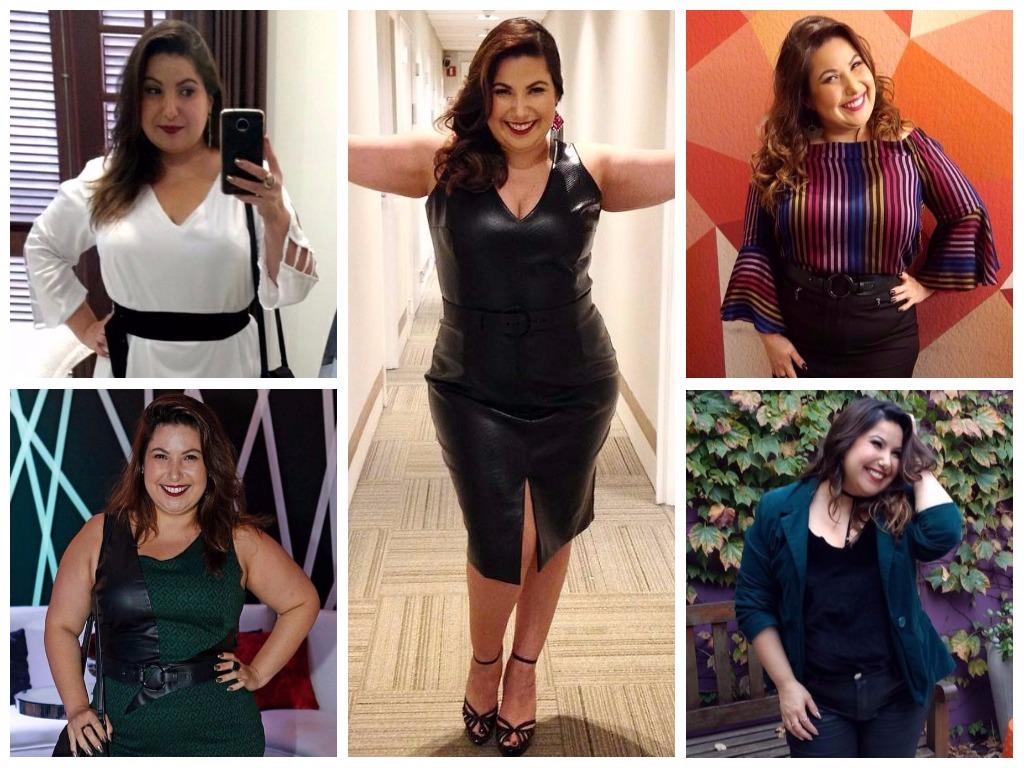 Plus size: 5 lições de estilo de Mariana Xavier