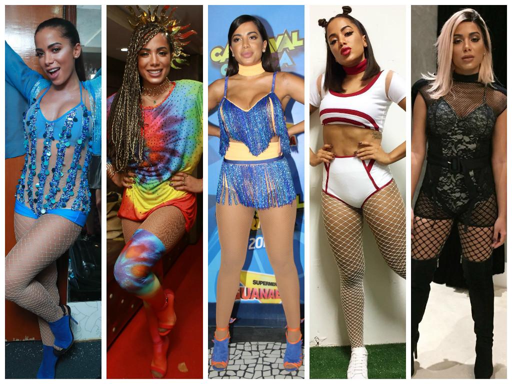 Anitta no Carnaval 2017 (Fotos: AgNews)