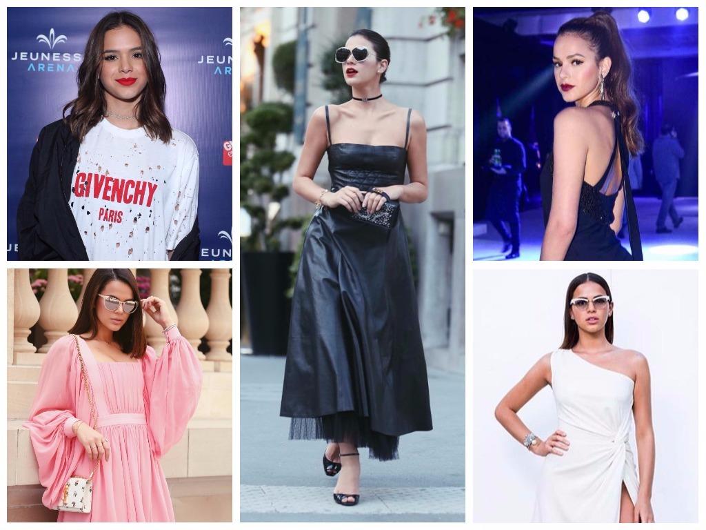 5a461c8a22 Looks de Bruna Marquezine (Fotos  AgNews - Instagram Reprodução)