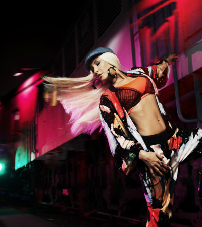 BaldinDeGelo: Claudia Leitte mescla reggaeton com look hip hop