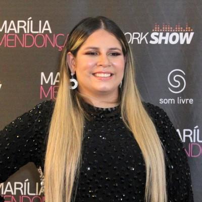 Marília Mendonça usa look com efeito Photoshop e fãs reagem