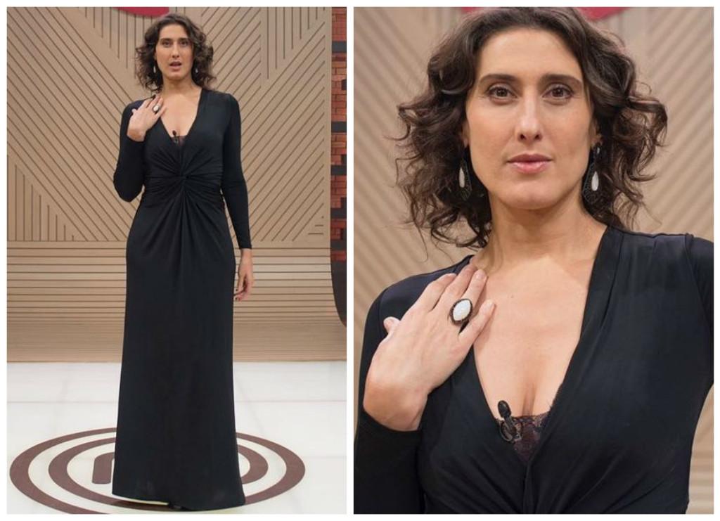 Paola Carosella de Iodice (Fotos: Carlos Reinis/Divulgação/Rede Bandeirantes)