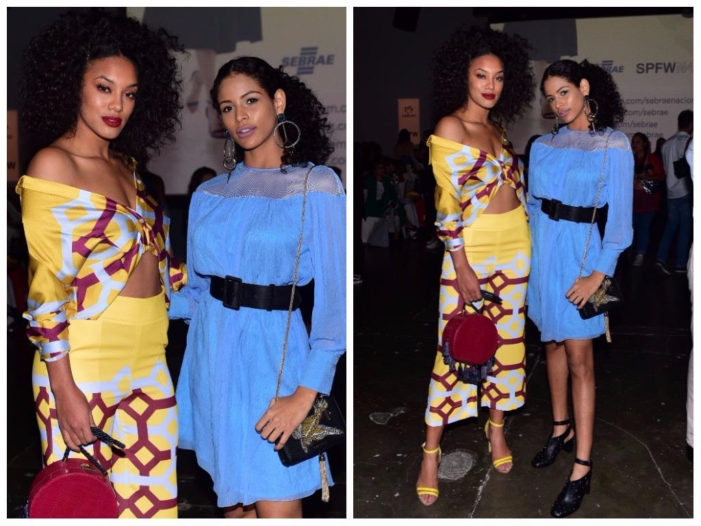 Raissa Santana e Monalysa Alcântara (Fotos: Leo Franco/AgNews)