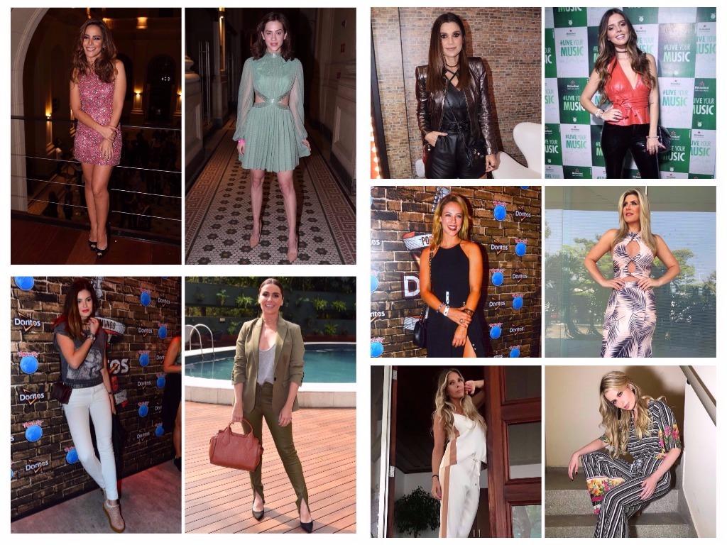 Looks das famosas na semana (Fotos: AgNews - Instagram/Reprodução)