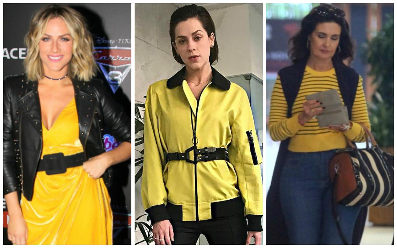 Alerta: Sophia, Fátima, Gio Ewbank apostam no amarelo e preto