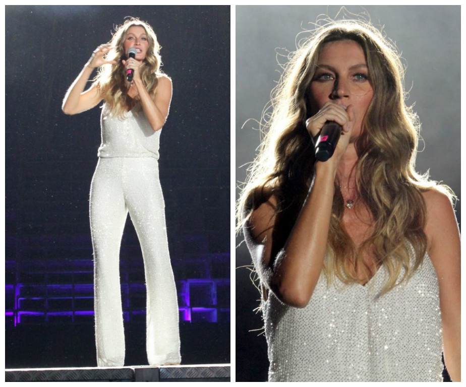 Gisele Bündchen no Rock in Rio (Fotos; Wallace Barbosa/AgNews)