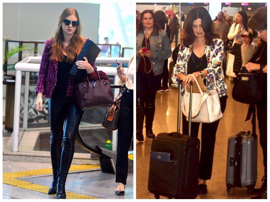 Looks de Marina Ruy Barbosa e Fátima Bernardes (Fotos: AgNews)