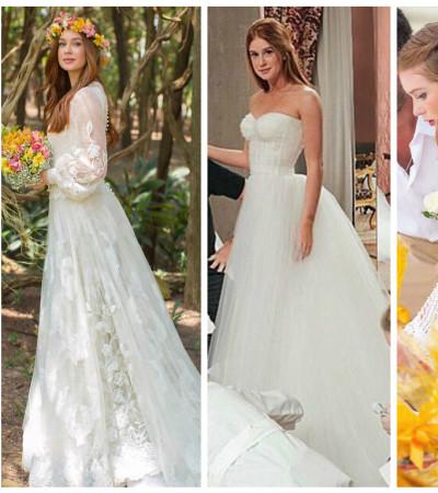 Marina Ruy Barbosa: 4 casamentos e 4 vestidos de noiva
