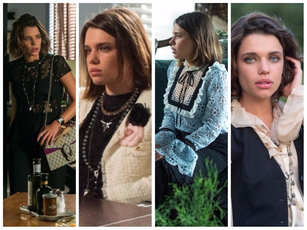 Looks da personagem Cibele (Fotos: Raquel Cunha/Estevam Avellar/TV Globo/Divulgação)