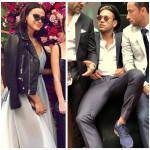 Neymar e Bruna no casamento de Marina Ruy Barbosa (Fotos: Reprodução/Instagram)