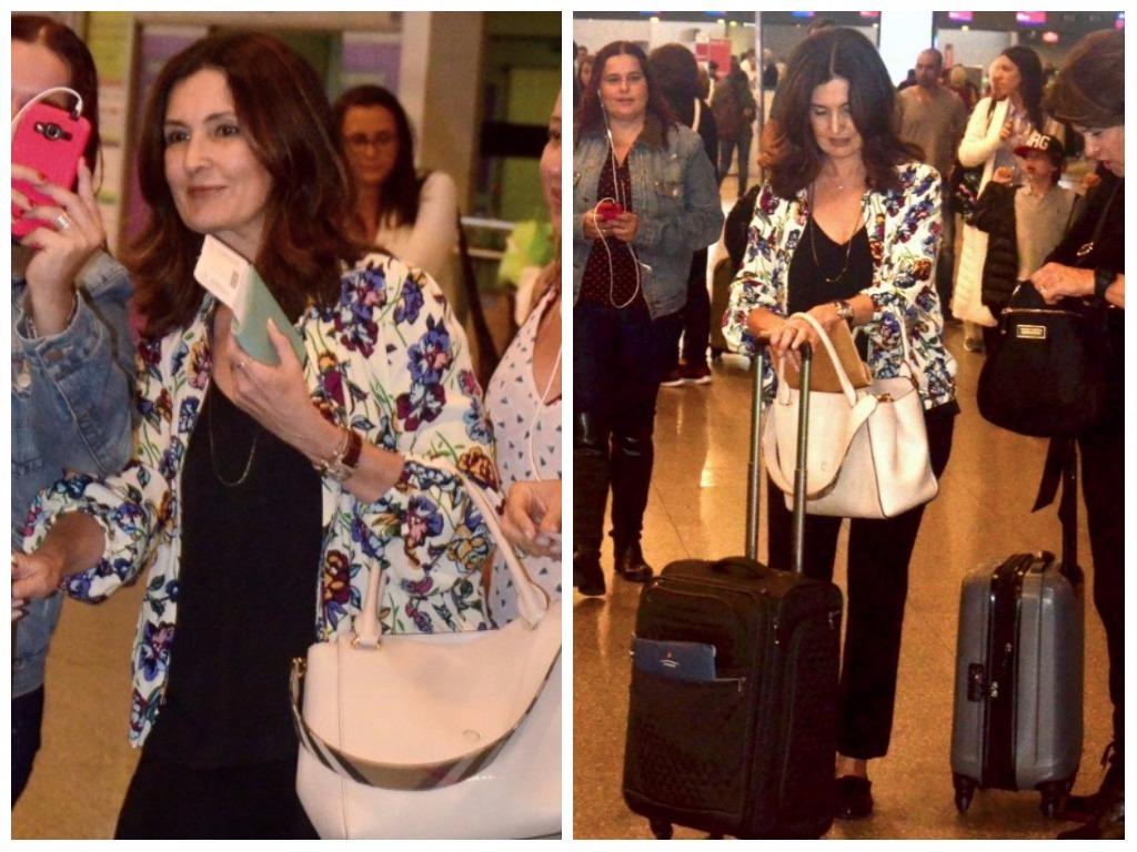 Fátima Bernardes (Fotos: AgNews)