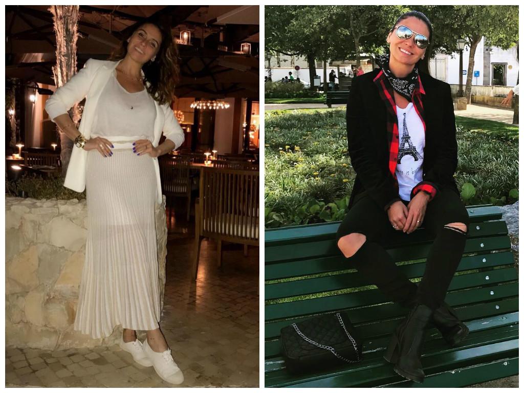 Giovanna Antonelli esbanja estilo com 2 looks que alongam