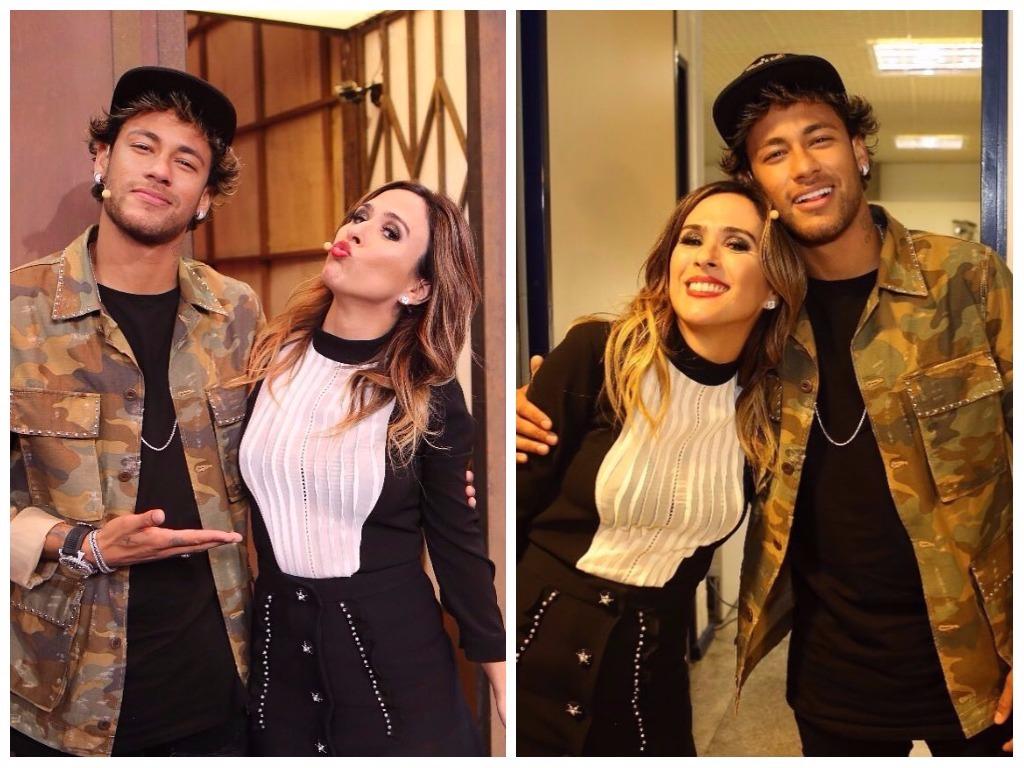 Tatá Werneck e Neymar Jr. no Lady Night (Foto: Instagram/Reprodução)