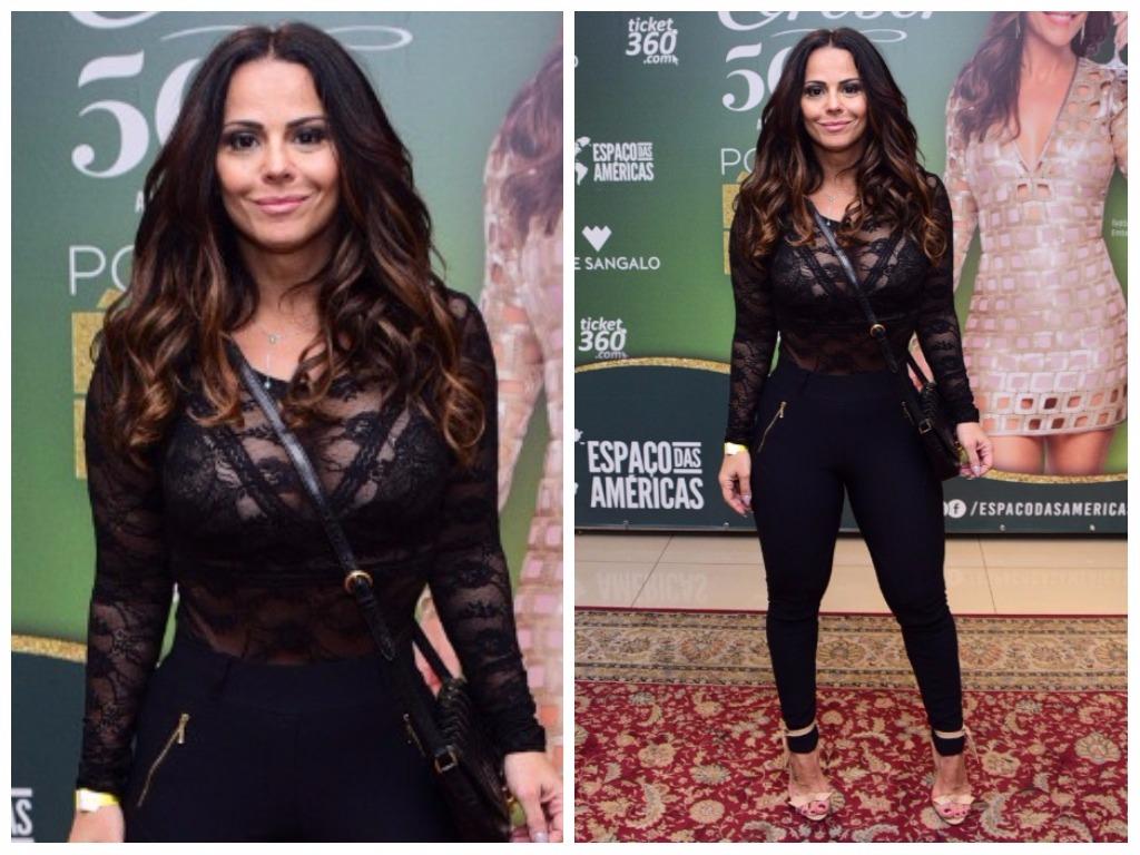 Viviane Araújo (Fotos: Leo Franco/AgNews)