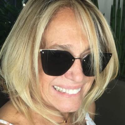 Susana Vieira muda visual para curtir férias
