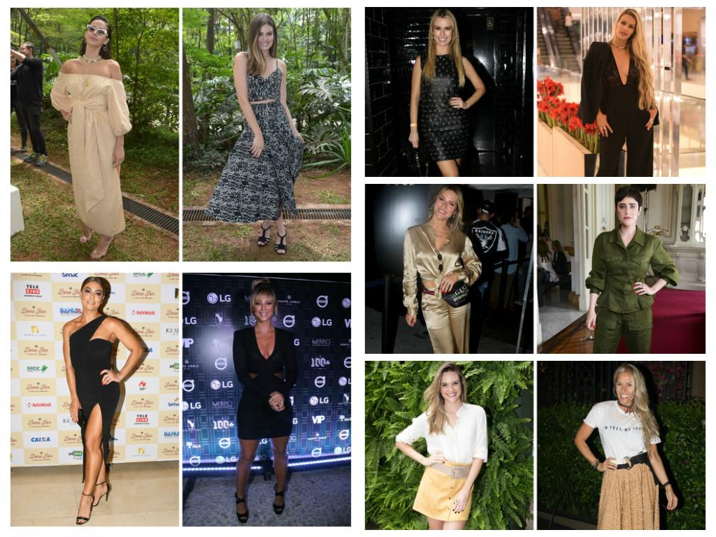 Looks das famosas nesta semana (Fotos: AgNews)